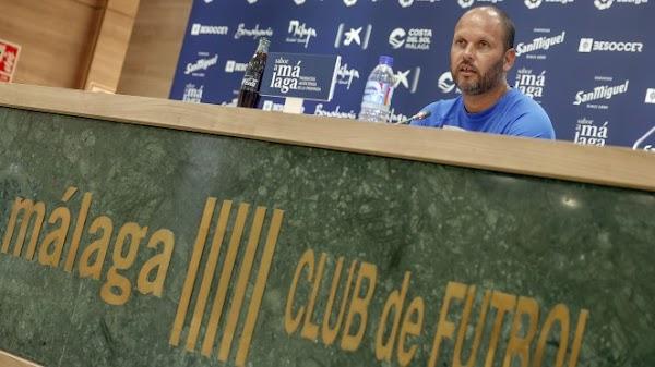 """José Alberto - Málaga -: """"Hay que sacar el orgullo"""""""