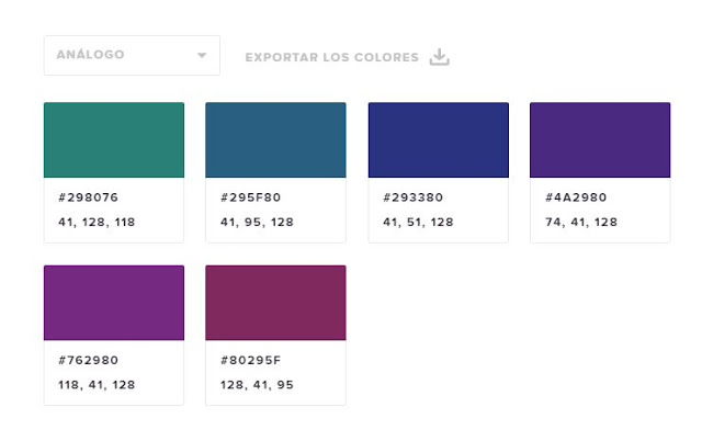 Como escoger una paleta de color para web y plataformas digitales