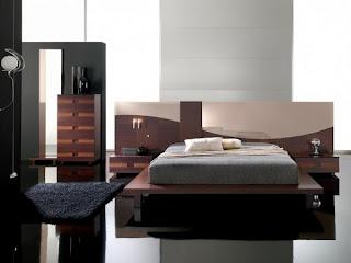 hermoso dormitorio moderno elegante