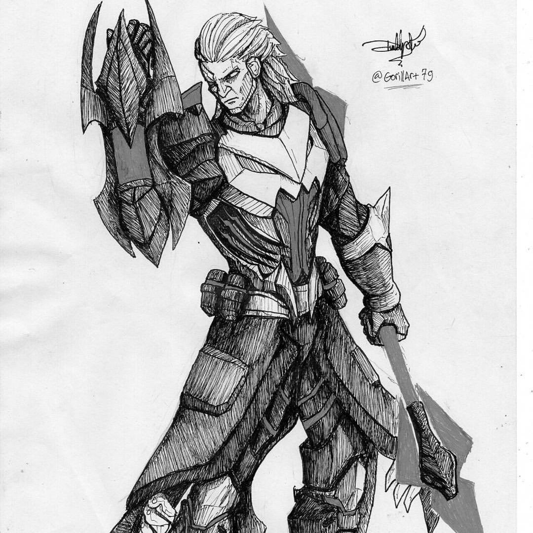 28 Amazing Mobile Legends Hero Sketch Fanart By Gorillart79 Eru Gaming