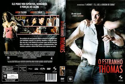 Filme O Estranho Thomas (Odd Thomas) DVD Capa