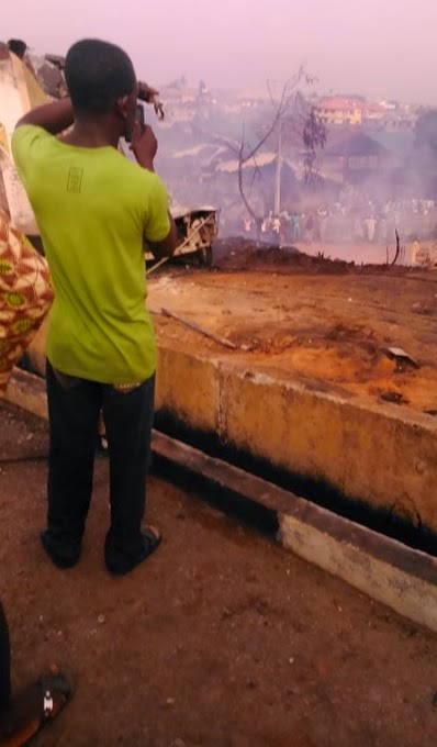 fuel tanker fire explosion lagos