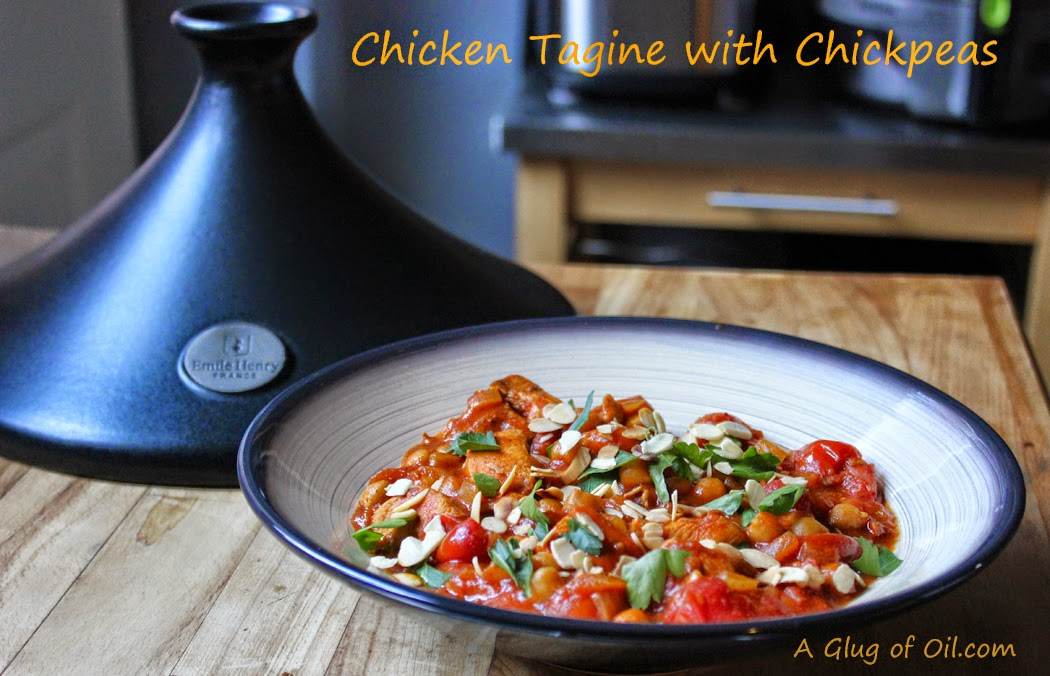 Chicken Tagine with Chickpeas