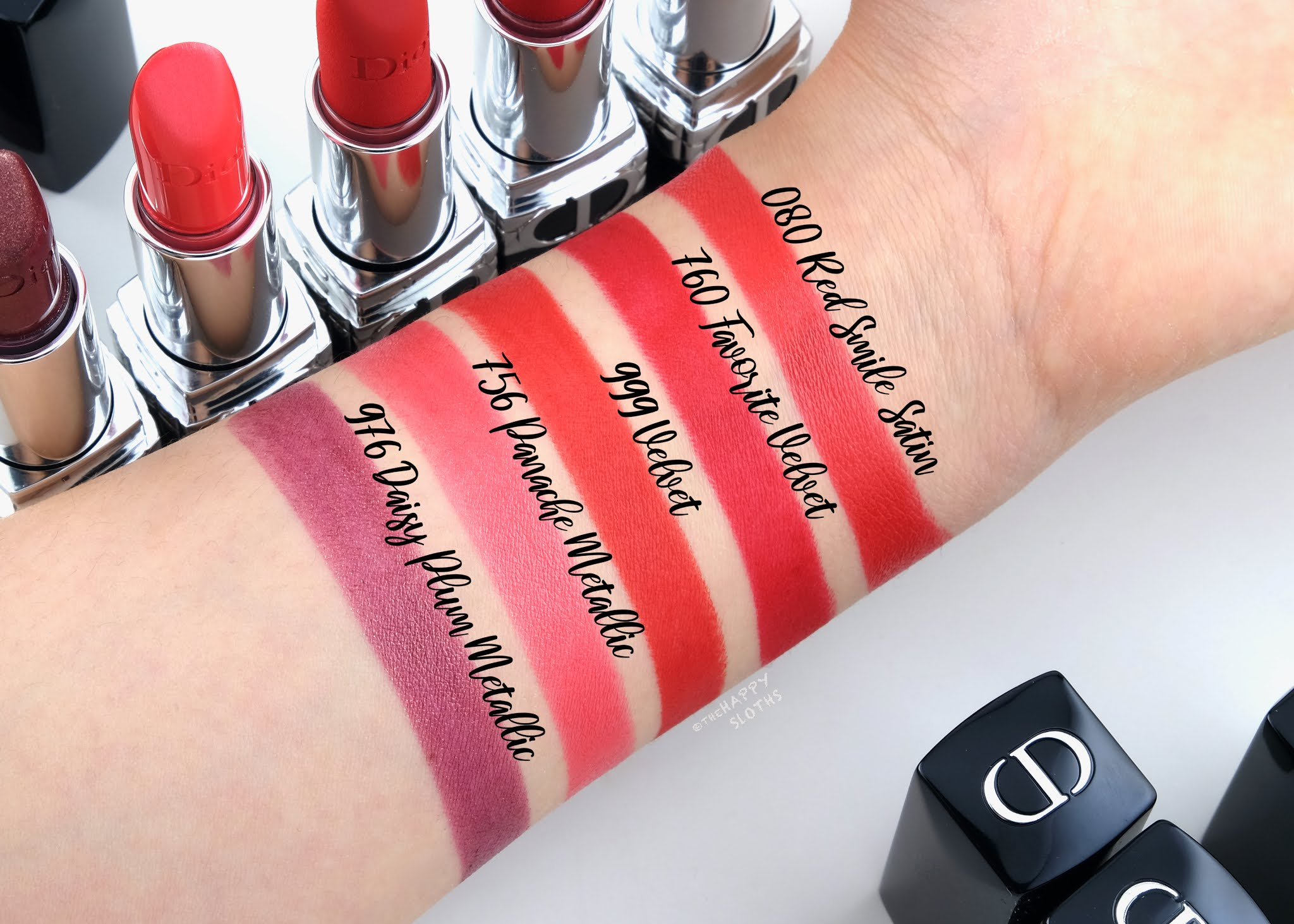 Dior | *NEW* Rouge Dior Refillable Lipstick: Review and Swatches
