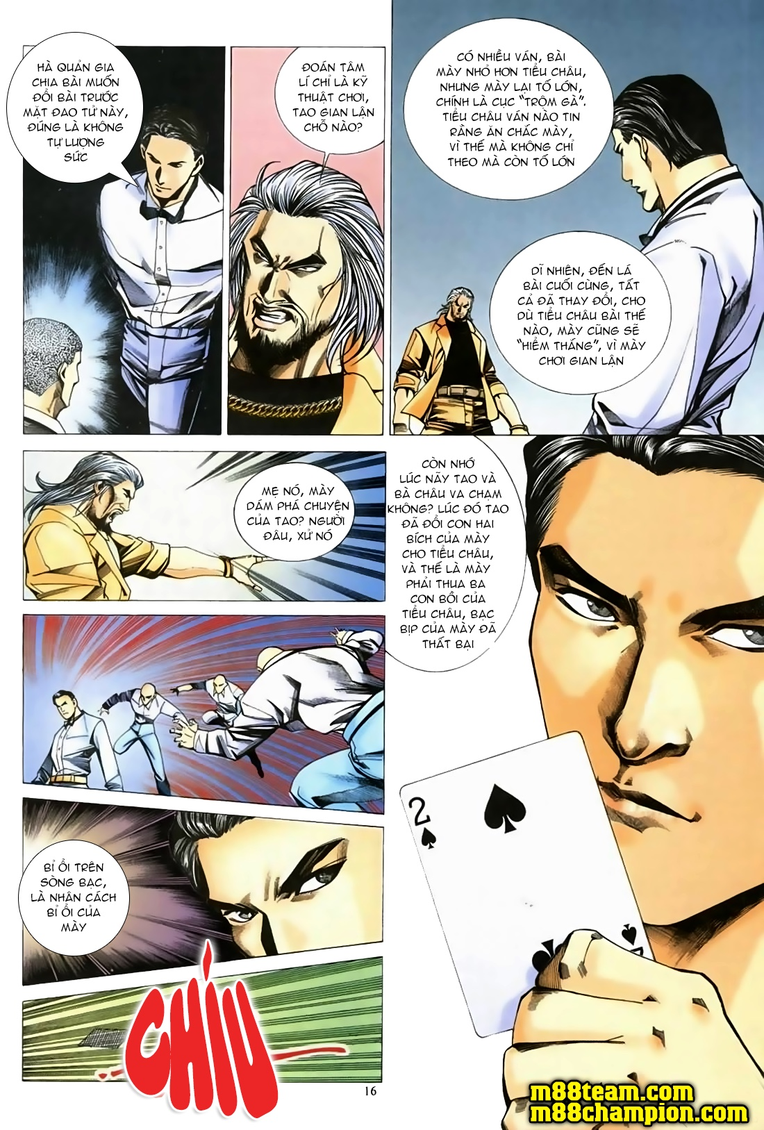 Đổ Hiệp Truyền Kỳ chap 1 - Trang 15