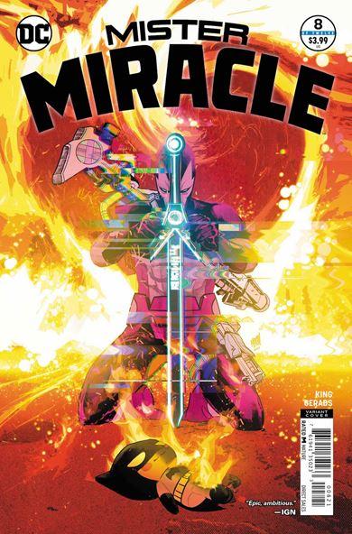 Mister Miracle es uno de los mejores cómics de DC
