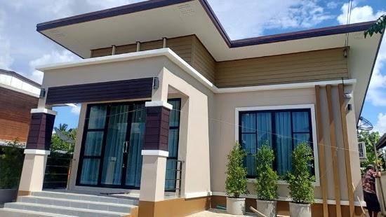 LINGKAR WARNA: 9 Desain Rumah Minimalis Modern 1 Lantai