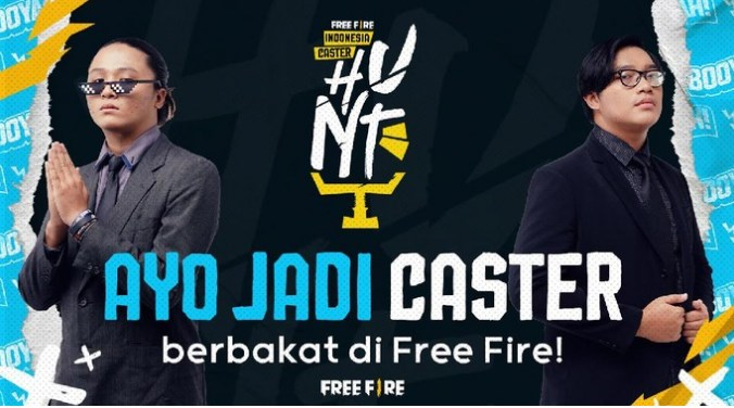 Free Fire Caster Hunt, Raih Peluang Jadi Shoutcaster Profesional