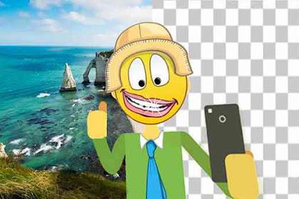 TUTORIAL Edit Foto: Cara Mengganti Background Foto Di Android