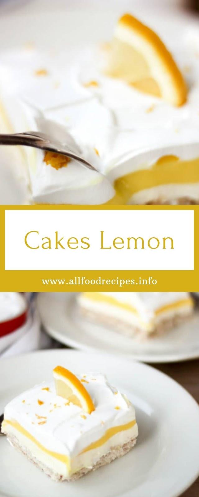 Cakes Lemon
