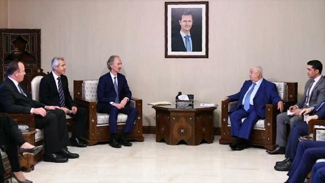 """Siria apoya el """"proceso político"""" mientras lucha contra terroristas"""