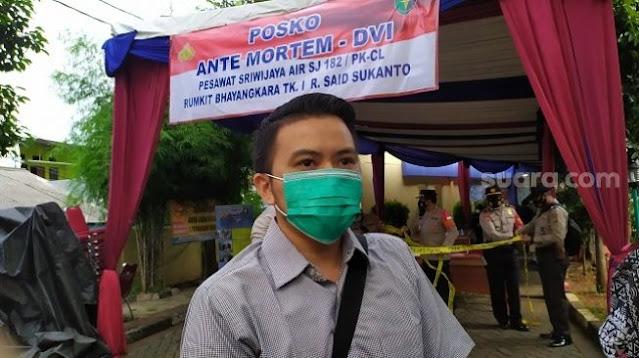 Co-Pilot Sriwijaya SJ 182 Diego Mamahit Hilang Bertugas, Ini Kata Keluarga