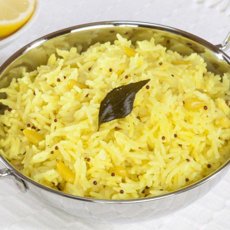 Rice with lemon