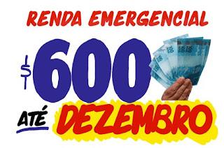 auxilio emergencial de 600 reais