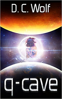 q-cave - a hard sci-fi adventure by D.C. Wolf
