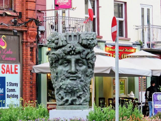 River Shannon Statue in Athlone Ireland