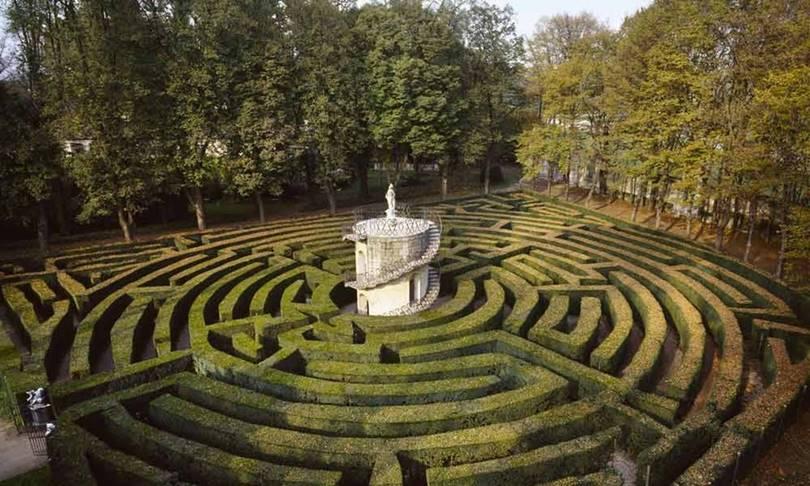 Labyrinth of Villa Pisani (Stra, Italy)