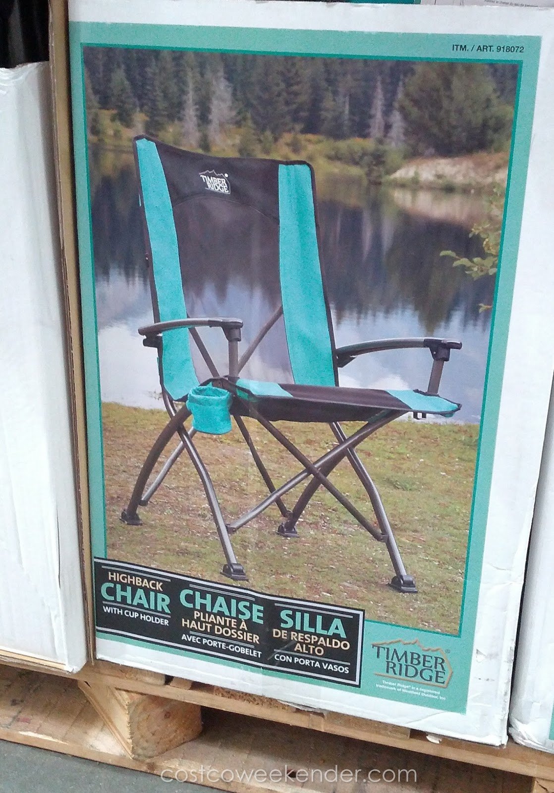 timber ridge outdoor chairs slipcovers for dining uk high back quad chair costco weekender