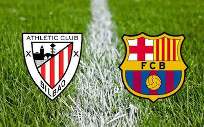 ملخص واهداف مباراة أتلتيك بيلباو وبرشلونة 2 - 1 فى كأس ملك إسبانيا الخميس 5-1-2017 على الجوال