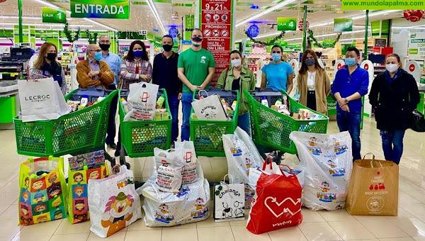 El Ayuntamiento de Los Llanos de Aridane agradece a las empresas del Centro Comercial Trocadero los donativos recibidos en la campaña navideña