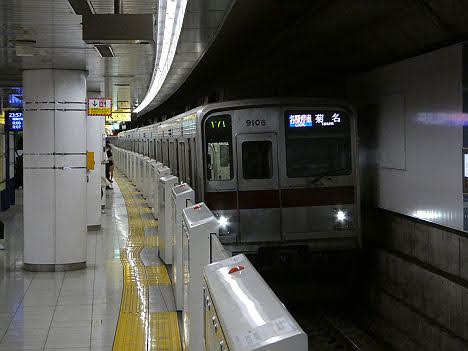 【ダイヤ改正で新設】東武9000系の各駅停車 菊名行き
