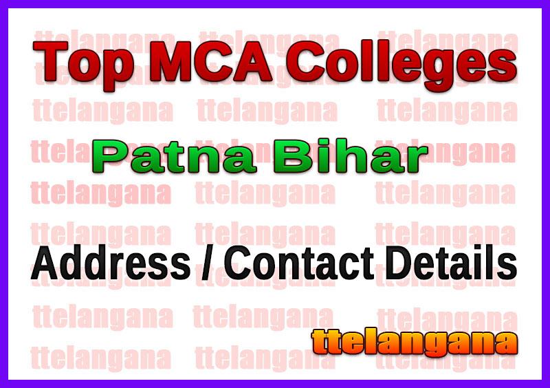 Top MCA Colleges in Patna Bihar