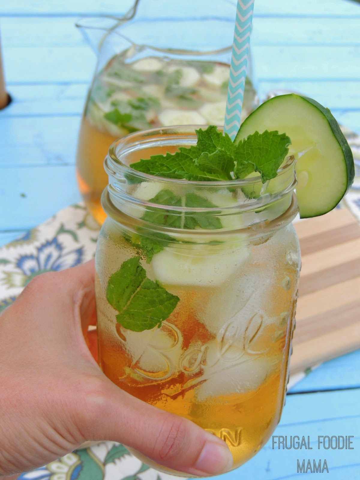 This Cucumber-Mint Green Tea Sangria is a refreshing & minty twist on a summer cocktail classic.