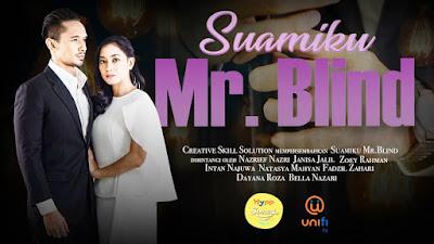 Senarai Pelakon Drama Suamiku Mr Blind