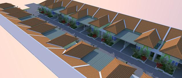 Desain Townhouse