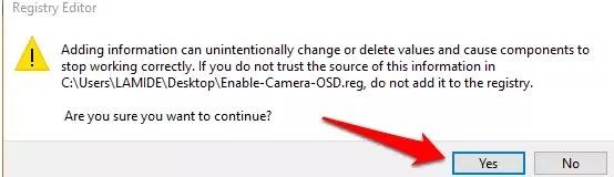 Cara Mengaktifkan Notifikasi OSD Webcam-10