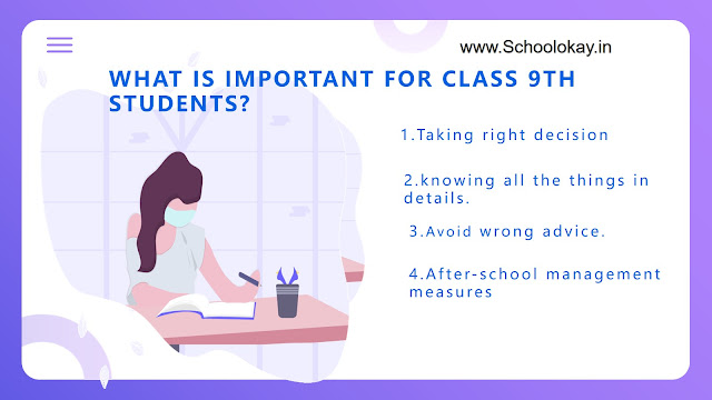 WHAT IS IMPORTANT FOR CLASS 9TH STUDENTS
