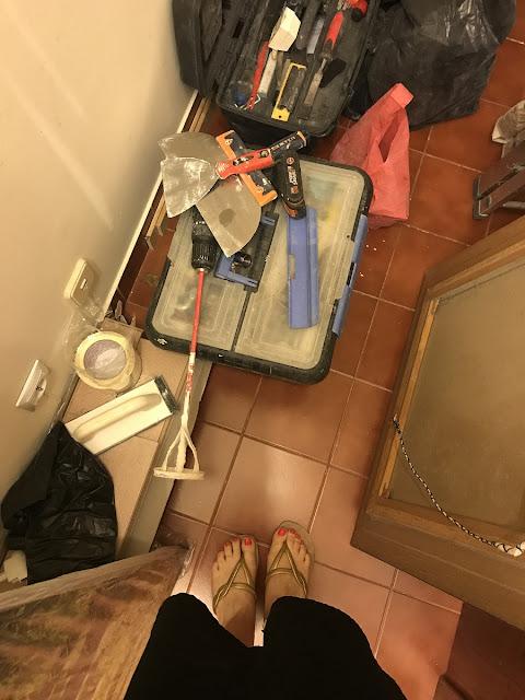 Obras na cozinha, pela Eilar
