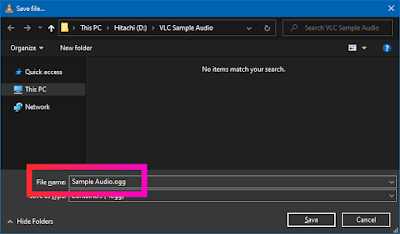 Croben.com Extract Audio Using VLC Step 10