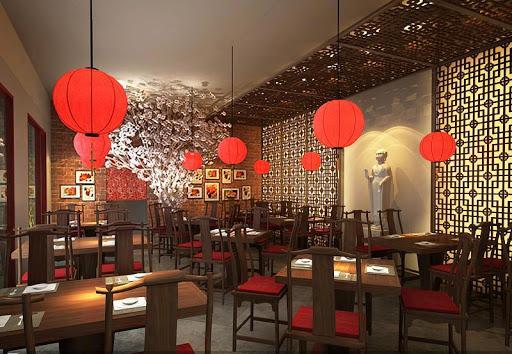 Trang trí thiết kế nhà hàng Hàn Quốc cho ngày Tết