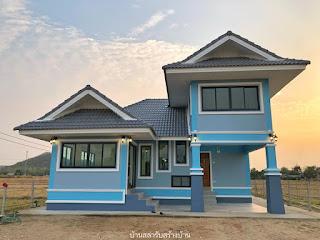 แบบบ้านหลังคามะนิลา