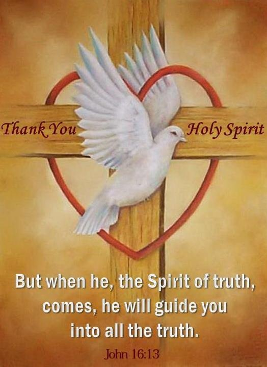 Holy Spirit Clip Art with Bible Verse
