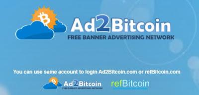 Ad2bitcoin est une régie publicitaire ultra simple et efficace