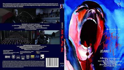 Carátula Blu-ray: El muro (1982) (Pink Floyd - The Wall)