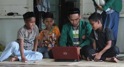 Masuk Media, Mahasiswa KKN Unimal Gelar Pelatihan Komputer untuk Siswa dan Pelajar Desa Lhok Euncien