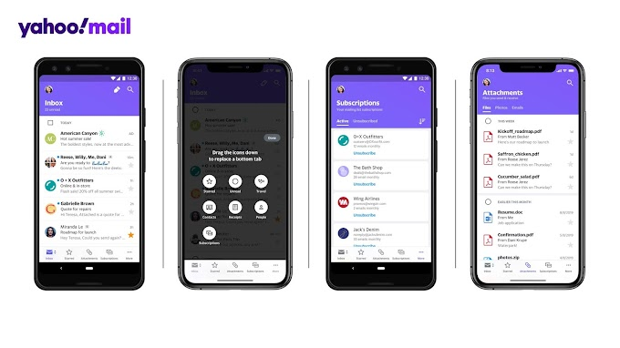Yahoo Revitalizes Its Yahoo Mail App
