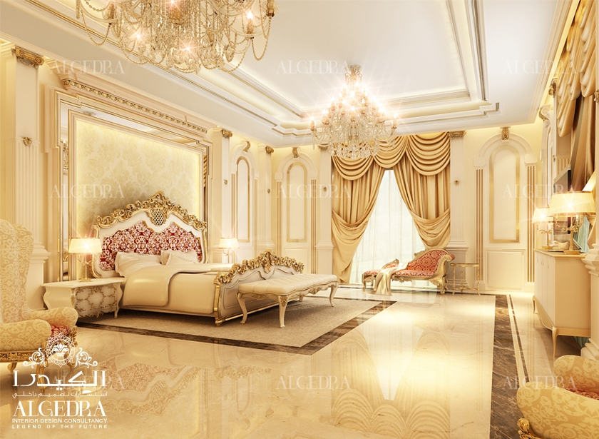 Interior design companies in dubai the best market for Classic bedroom design