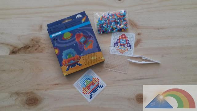 Proyecto Hama Beads cohete