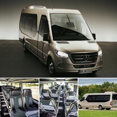 Book Now / Mercedes Sprinter 18 PAX