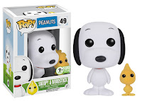Funko Pop! Flocked Snoopy & Woodstock