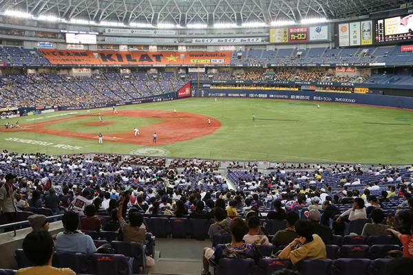 2015年 オリックス・バファローズ観戦 2 <京セラドーム大阪>