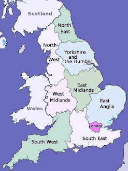 Detailed Map Of England
