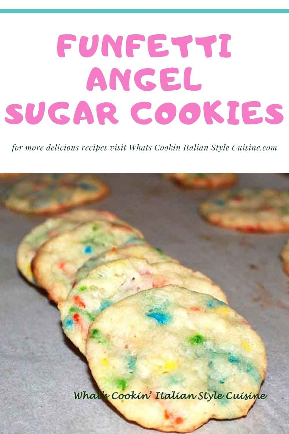 how to make angel sugar cookies pin for later