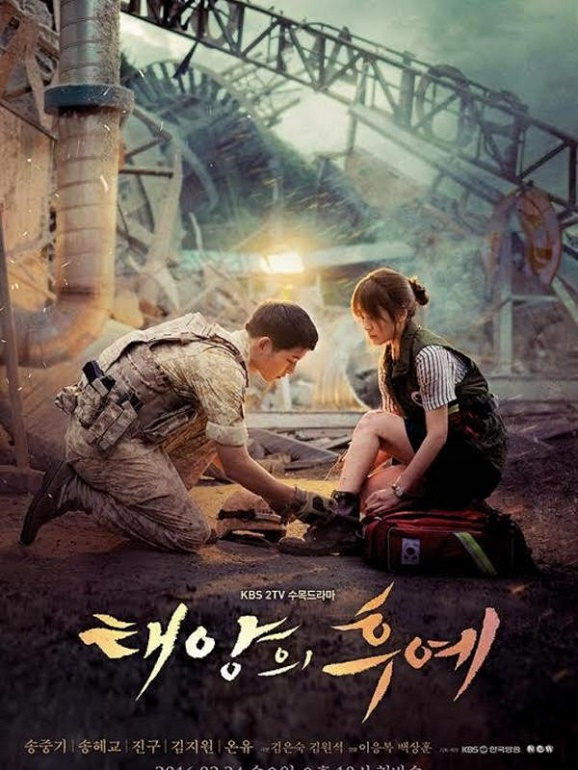 Rating drama perdana Descendants of the Sun Ep 10 Pecahkan Rekor KBS2