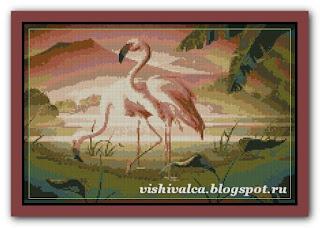 "Luca-S B339 ""Flamingo in pereche"""