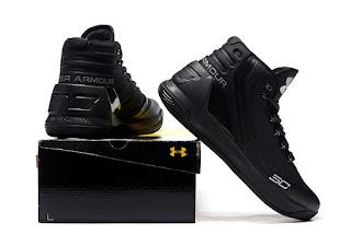 Under Armour Curry 3 Blackout Premium, toko sepatu basket , jual sepatu basket, harga basket under armour, under armour curry , curry 3